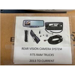 Vision backup camera - fits 2013 to 2019 Ram 1500 DS truck