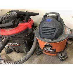 Rigid wet/dry vac model WD06701; Rigid wet/dry vac 45L 5HP model 1200RVO