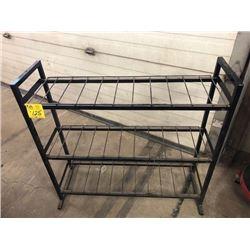 Black wire 3 shelf stand