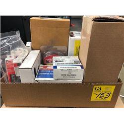 Touch up pens;  handle; heater; tire repair system; bulbs, 1 button transmitter, window lift motor