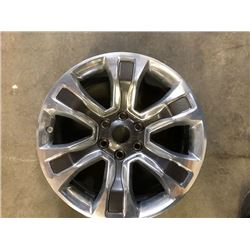 Dodge Ram replacement rim, damaged