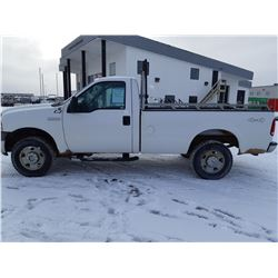 2005 Ford F250 XL 4wd, Regular Cab  131,325kms  Just serviced @Tire Craft Saskatoon