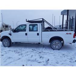 2008 Ford F250 4X4 Crew Cab - 57,662kms Just serviced @Tire Craft Saskatoon