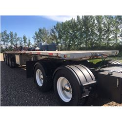 2012 Load King Trailers-Super B Flat Decks, Heavier Upper 5th Wheel Plates, Coil Package, Lift Axle