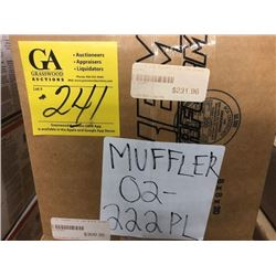 E- Tec muffler, black (02-222PL)