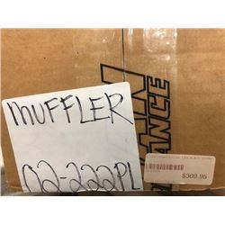 Muffler (02-222PL); slip on mufflers