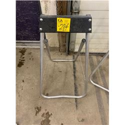 Boat motor stand