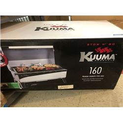 Kuuma Portable Propane Gas Stow N Go 160 Grill with Thermometer and Igniter