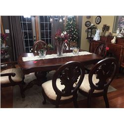 beautiful mahogany 10 pc dining room suite