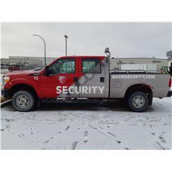 2012 Ford F250 Super Duty Crew Cab - Red 358,311km  Just serviced @Tire Craft Saskatoon