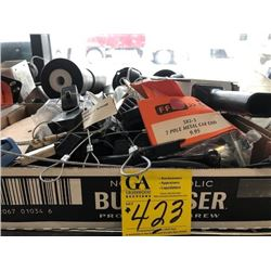 Trailer Document holders, Rollers, trailer wiring parts, locks and latches