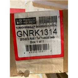 GNRK1314 B and W Turn Over Ball Gooseneck Trailer Hitch