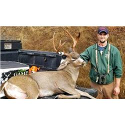 Oregon 5 Day Columbia Blacktail Hunt for 2