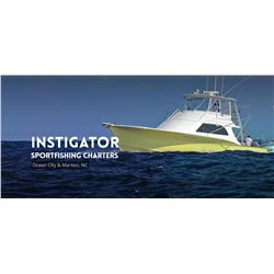 Off Shore Fishing Charter for 6 off the Eastern Shore with Instigator Sportfishing