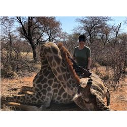 7-Day Giraffe Hunt for 2 Hunters with Monkane Safaris