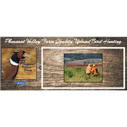 Pennsylvania Pheasant Hunting for 1-2 Hunters