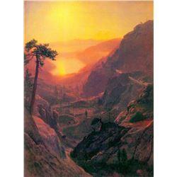 Donner Lake by Albert Bierstadt