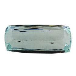 8.77 ct.Natural Cushion Cut Aquamarine