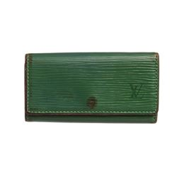 Louis Vuitton Green Epi Leather 4 Key Holder