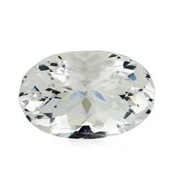 5.71 ct.Natural Oval Cut Aquamarine