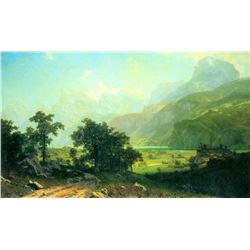 Lucerne Switzerland by Albert Bierstadt
