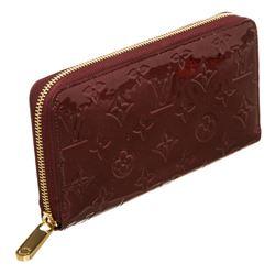Louis Vuitton Rouge Vernis Monogram Zippy Wallet