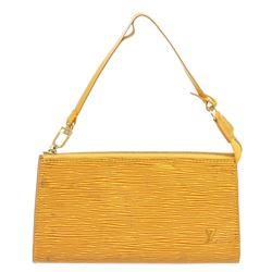Louis Vuitton Yellow Epi Leather Pochette Shoulder Bag