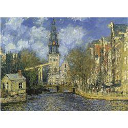 Claude Monet Zuiderkerk At Amsterdam