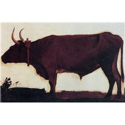 Ox by Albert Bierstadt