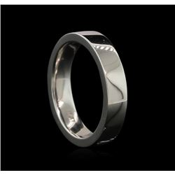 Platinum Mens Wedding Band - Platinum