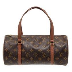 Louis Vuitton Monogram Canvas Leather Vintage Papillon 30 cm Bag