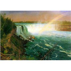 Niagra Falls by Albert Bierstadt