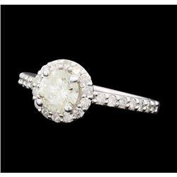 1.32 ctw Diamond Ring - 14KT White Gold