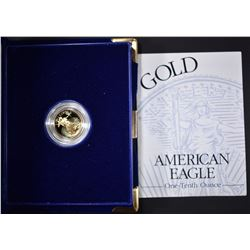 1994 1/10th OUNCE PROOF GOLD AMERICAN EAGLE