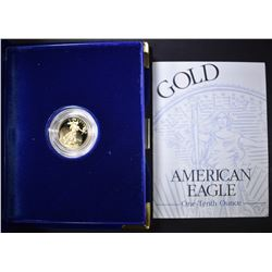 1995 1/10th OUNCE PROOF GOLD AMERICAN EAGLE