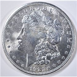 1921-S MORGAN DOLLAR   GEM BU