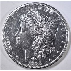 1885-S MORGAN DOLLAR  UNC  CLEANED