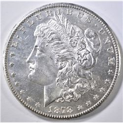 1878-S MORGAN DOLLAR  GEM BU PL
