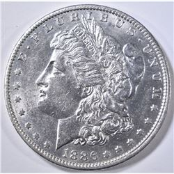 1886-O MORGAN DOLLAR  BU