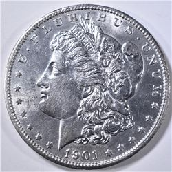 1901-S MORGAN DOLLAR  CH/GEM BU