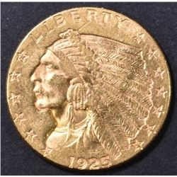 1925-D $2.5 GOLD INDIAN  CH BU