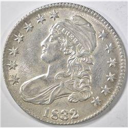 1832 BUST HALF DOLLAR   AU/BU