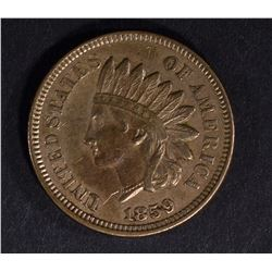1859 INDIAN HEAD CENT AU
