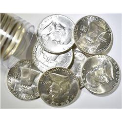 18-BU 1955 FRANKLIN HALF DOLLARS