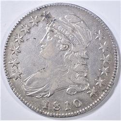 1810 DRAPED BUST HALF DOLLAR XF/AU