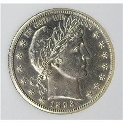 1893-O BARBER HALF DOLLAR