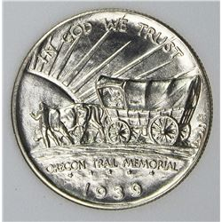 1939-S OREGON TRAIL HALF DOLLAR