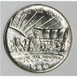 1939 OREGON TRAIL HALF DOLLAR