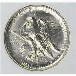 1938-S TEXAS HALF DOLLAR