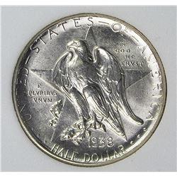 1938-D TEXAS HALF DOLLAR